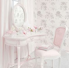 Shabby Chic dressing table // My edit