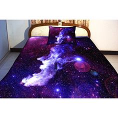 galaxy bedding set two sides printing galaxy twin 138 00 11631 | df82eb142b84ad94df9026be597fa880