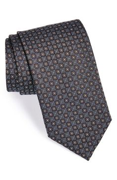 Canali+Woven+Silk+Tie+available+at+#Nordstrom