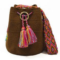 susuu Mochila-Wayuu Color - оригінальні сумки - акцент на поясі