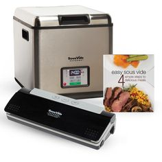 Holiday SousVide Supreme Promo Pack with Free Holiday Cookbook $499