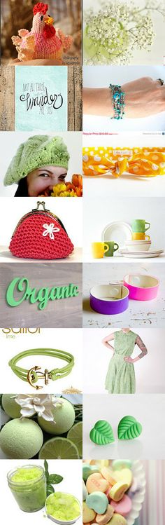 refreshing spring! by Julia Strube on Etsy--Pinned with TreasuryPin.com