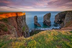 The stack Pembrokeshire Coast at the last light,sunset photography in Pembroke. Photography high quality prints,Buy Seascape Photography prints ,canvas prints Seascape Photography