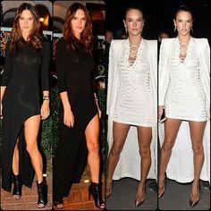 #AlessandraAmbrosio Recent Monochrome Sightings#vsangel #cute #gorgeous #highheels #supermodel #model #white #fashion #style #celebrity #printed #hollywood #star #beautiful #CropTop #denim #bae #legsfordays #omg #olivegreen #pretty#stylish #lookbook #look #ootd #outfit #heels... - Celebrity Fashion