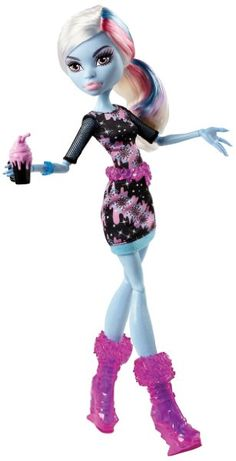 Monster High Coffin Bean Abbey Bominable Doll:Amazon:Toys & Games