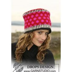This just makes me smile. FREE hat knitting pattern. I have videos for all the skills, too.
