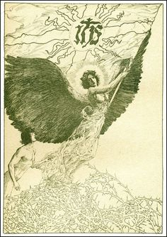 Willy Pogany 1882 ~ 1955 Parsifal by Wagner Published by Crowell ~ 1912