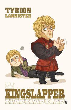 Tyrion Lannister, Kingslapper by ~MKage on deviantART