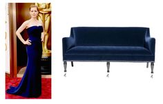 Amy Adams ….. or Barclay Butera …. Who Wore it Better?  #whoworeitbetter #oscars2014