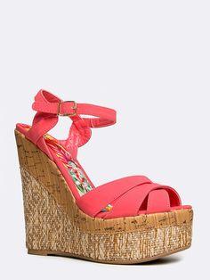 d7d154683934 Ankle strap heel Shoes Heels Wedges
