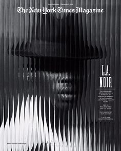 NYTmag – Great Performers Issue: L.A. Noire by Jack Davison