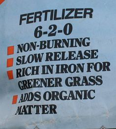 Lawn Fertilization for a Healthy Lawn - A proper diet will keep your lawn healthy and better able to fight off weeds and pests...