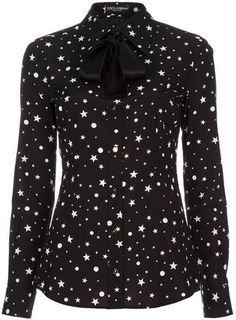 ShopStyle: Dolce & Gabbana White star print shirt