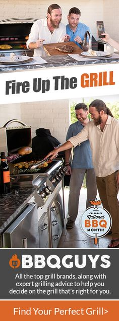 Shop for BBQ grills & smokers at BBQGuys. Backyard Cookout, Backyard Landscaping, Outdoor Kitchen Design, Outdoor Kitchens, Grill Brands, Bbq Bar, Perfect Grill, Grillin And Chillin, I Grill