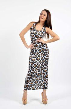 Leopard Jersey Print Φόρεμα Boutique Stores, Dresses, Fashion, Vestidos, Moda, Fashion Styles, Clothing Boutiques, Dress, Fashion Illustrations