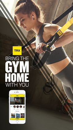 Trx Home Gym, Trx Gym, Gym Workouts, At Home Workouts, Trx Suspension Trainer, Suspension Training, Fast Weight Loss Diet, How To Lose Weight Fast, Trx Full Body Workout
