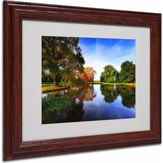 Trademark Fine Art Autumnal Beauty Canvas Art by Philippe Sainte-Laudy, Wood Frame, Size: 11 x 14, Multicolor