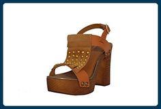 RIPA ,  Damen Skinny , Braun - cognac - Größe: 39 - Sandalen für frauen (*Partner-Link)