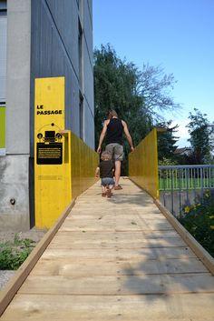 Zoom Architecture - Installation Le Passage - Fontaine, Isère