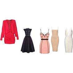 dress by megiiborosova on Polyvore featuring Monique Lhuillier, Balmain and Rare London
