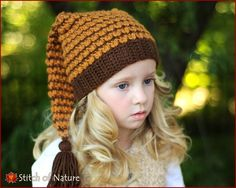 e5c946695d8 Crochet PATTERN - The Wisteria Stocking Hat Pattern
