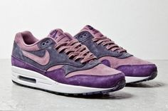 Nike Air Max 1 Purple Suede
