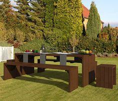 Set de madera de pino LINE - Leroy Merlin