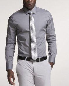 Express 1MX Extra Slim Fit shirt