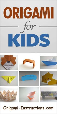 Origami For Kids – Free Instructions