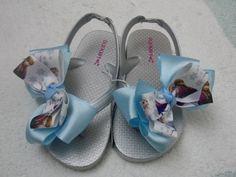 Frozen flip flops inspired Frozen sandals . Toddler Flip Flops  kids flip flops or Adults Flip flops