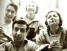 Piaf com Robert Castel.