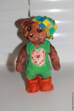 Купить Медведь коллекционный-Фимочка - медведь, медведь игрушка, мишка, мишка ручной работы