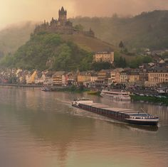 Mosel River and the Castle of Cochem, Germany