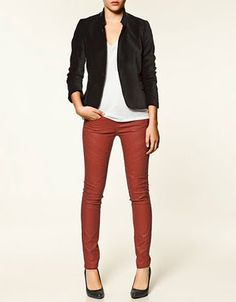 loving these red pants!