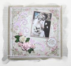 Bibbi's: Et par bryllupskort