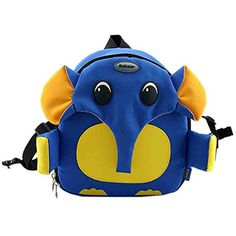 91f027647f8 Blue Elephant Toddler Backpack Infant Lovely Knapsack Cute Baby Bag   Read  more at the image