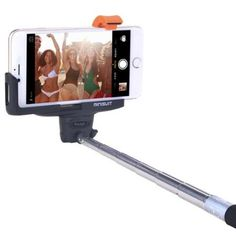 Minisuit Selfie Stick Pro Lite with Built-In Remote for Apple & Android - Black - Walmart.com