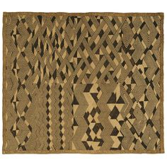 20th century  Kuba Cloth Square, Democratic Republic of Congo