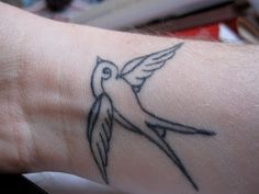 finch tattoo.