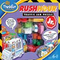 Rush Hour Jr. - Younger players can experience the fun and challenge of Rush Hour in a junior version. Set up your game grid according to the challenge card and steer your ice cream truck through a jumble of blocking cars, trucks and buses to make your way to the exit.