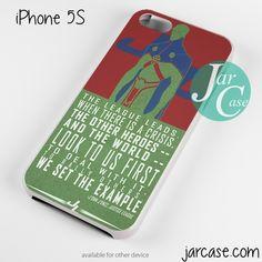 J'ONN Martian Phone case for iPhone 4/4s/5/5c/5s/6/6 plus