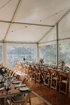 Wooden padded folding chairs, White roof marquee, festoon lighting, 2.4m trestle tables Compact Table And Chairs, Dining Room Table Chairs, Chair Pads, Tub Chair, French Provincial Chair, Accent Chairs, Table Decorations, Trestle Tables