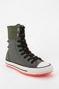 Converse Chuck Taylor All Star Hiker High-Top Sneaker - Urban Outfitters Sock Shoes, Cute Shoes, Me Too Shoes, Shoe Boots, Converse Chuck Taylor All Star, Converse All Star, Converse Shoes, Pullover Shirt, Fashion Shoes