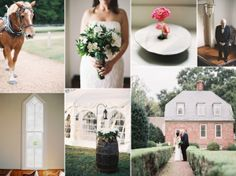 Classic wedding in a historic home in Virginia