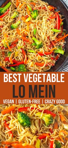 Gluten Free Vegetarian Recipes, Vegan Dinner Recipes, Gluten Free Cooking, Dairy Free Recipes, Vegan Dinners, Vegan Gluten Free, Whole Food Recipes, Cooking Recipes, Vegetarian Recipes Noodles