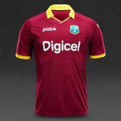 Joma West Indies Odi/T20 Cricket Jersey (3-Xl)
