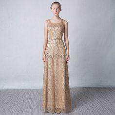 robe de soiree grande taille doré scintillant pas cher longue avec ceinture
