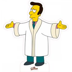 The Simpsons Reverend Lovejoy Cardboard Stand-Up
