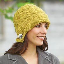 Triangulate Hat Knit Yarn Kit - Willow Yarns