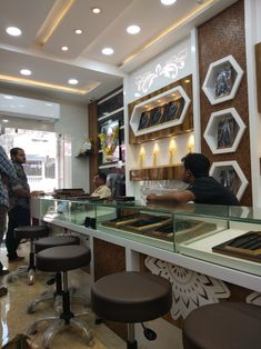 Jewellery show room